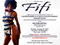"BEHIND the SCENES of ""CAPONI RUNWAY FASHION SHOW & NEW ARTIST SHOWCASE"""