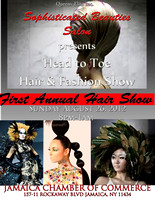 """SOPHISTICATED BEAUTIES FASHION/HAIR SHOW"""